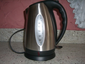 Electric Tea Kettle by PDXFirefly